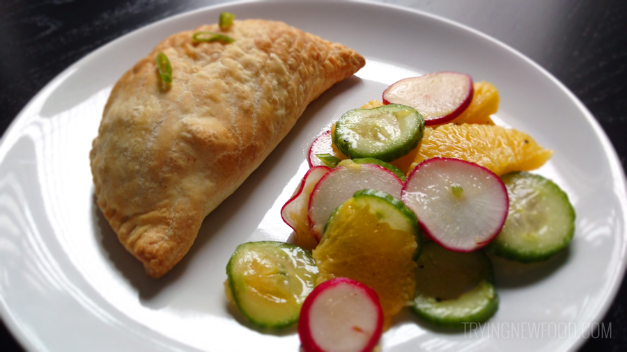 Blue Apron Jamaican-Style Vegetable Turnovers