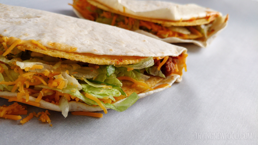 Taco Bell Double Stacked Tacos