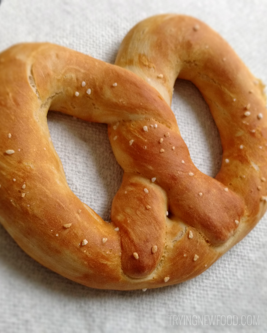 Auntie Anne's Pretzels & More Homemade Baking Mix pretzel