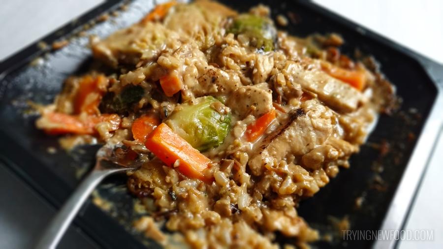 EatingWell Chicken & Wild Rice Stroganoff