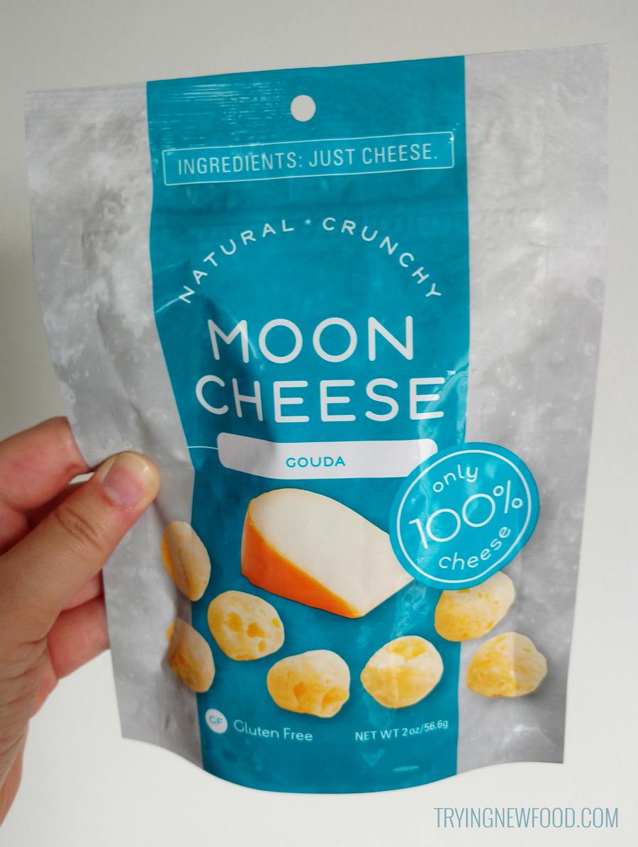 Gouda Moon Cheese front packaging