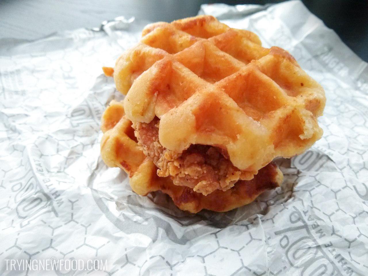 KFC Chicken & Waffles Sandwich